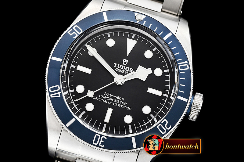 Tudor Heritage Black Bay Shield SS/SS Blue/Blk ZF Asia 2824