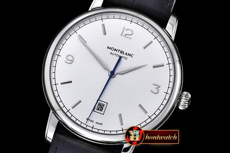 Mont Blanc Heritage Chronometrie SS/LE Silver White MY9015 Mod