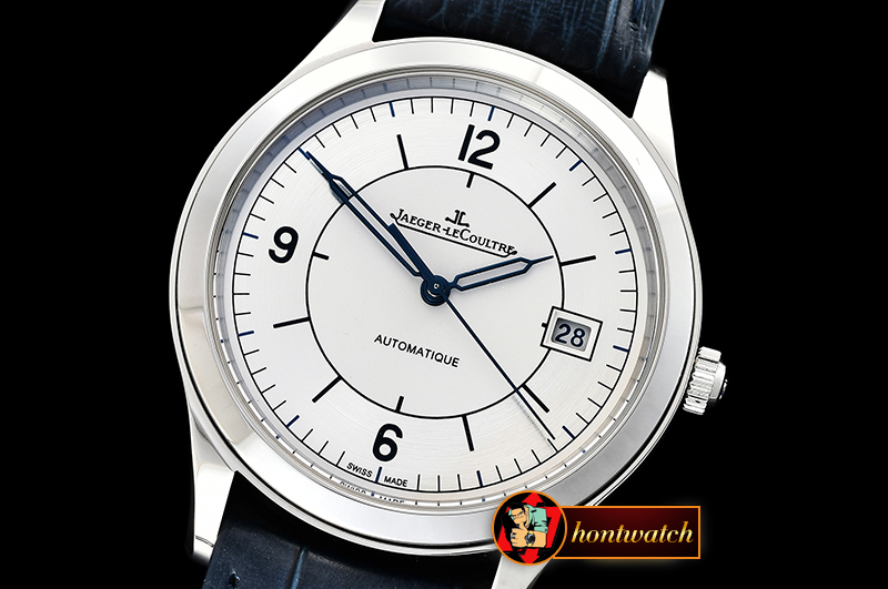 JAEGER LE COULTRE Master Control Date 2017 SS/LE White ZF Asia 23J Mod