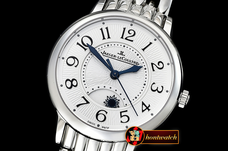 Jaeger Le Coultre Rendez-Vous Day/Night SS/SS White MY9015 Mod