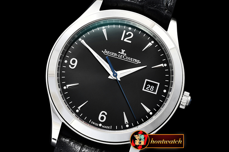Jaeger Le Coultre Master Grande Ultra Thin 1548420 SS/LE Black ZF Asia 23J