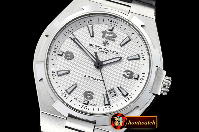 VACH. CONSTANTINE Overseas Ref.47074 SS/LE White MY9015 Mod
