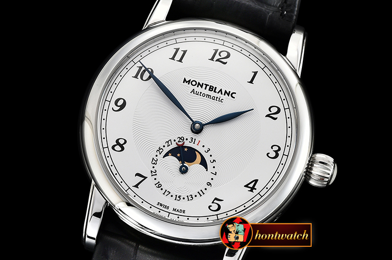 Montblanc Star Legacy MoonPhase 42mm SS/LE White MY9015 Mod
