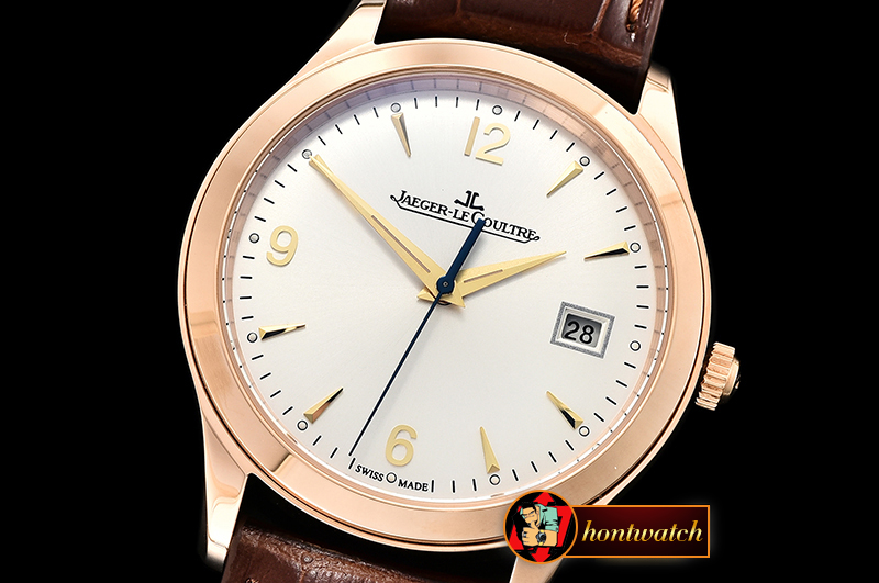 Jaeger Le Coultre Master Grande Ultra Thin 1548420 RG/LE White ZF Asia 23