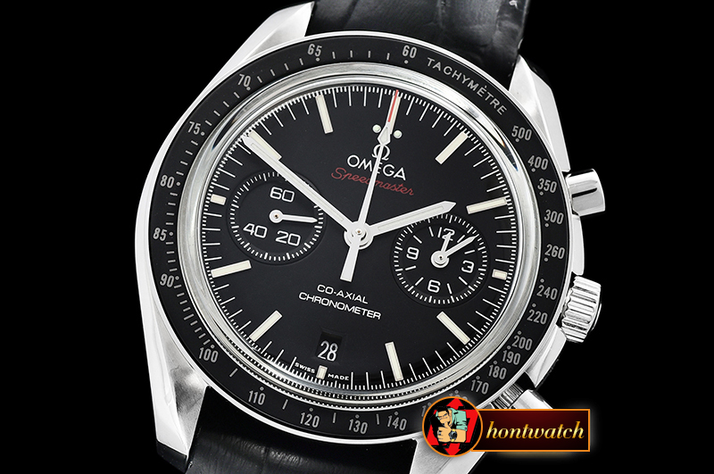 OMG0542B - SpeedMaster MoonWatch Red SS/LE Blk JHF V2 A7750 9300