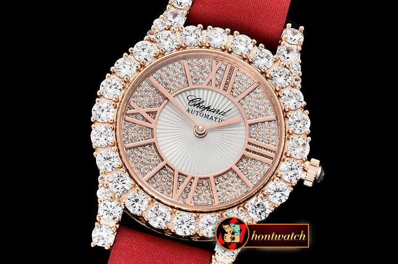 Chopard L'Heure Du Diamant Round RG/LE (Red) Rose Gold MY9015