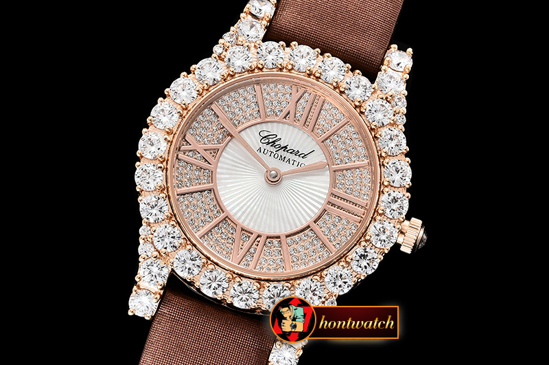 Chopard L'Heure Du Diamant Round RG/LE (Brown) Rose Gold MY9015