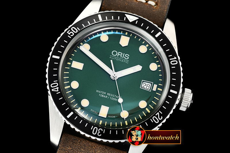 Oris Divers 7720 SS/LE Green ZZF Asia 2836