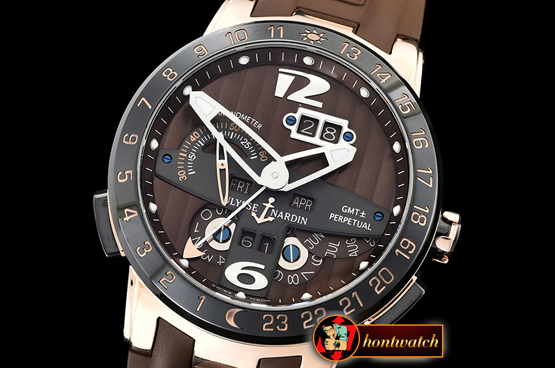 Ulysse Nardin Executive Toro 326-03 Automatic RG/RU Brown Asia 23J