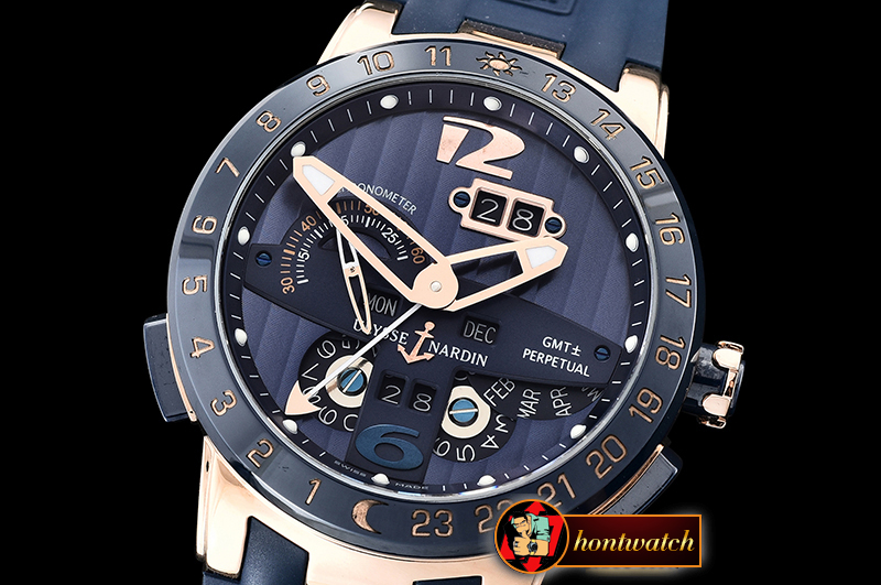 Ulysse Nardin Executive Toro 326-03 Automatic RG/RU Blue Asia 23J
