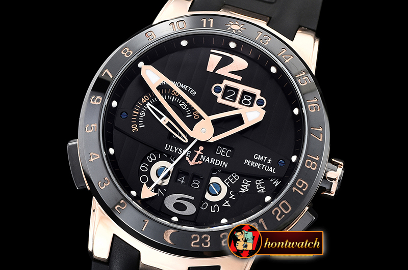 Ulysse Nardin Executive Toro 326-03 Automatic RG/RU Black Asia 23J