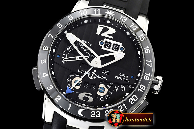 Ulysse Nardin Executive Toro 326-03 Automatic SS/RU Black Asia 23J