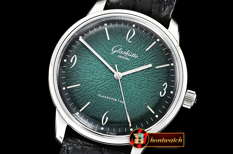 Glashutte Original Sixties 2018 SS/LE Green YLF Asia 23J Mod