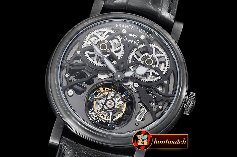Franck Muller Giga Tourbillon Ronde Squelette PVD/LE Flying Tourb