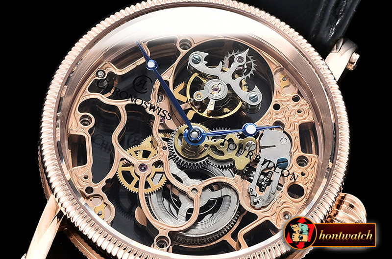 Chronoswiss Tourbillon RG/LE Skele Asia Flying Tourb - Click Image to Close