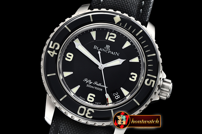 Blancpain Fifty Fathoms Black TI/NY Black ZF Asia 23J