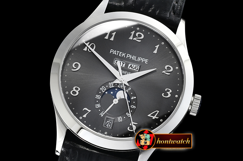 Patek Philippe Annual Cal. Moonphase Ref.5396 SS/LE Grey KMF MY9015