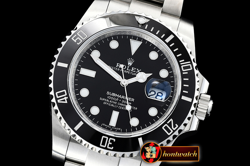 Rolex Submariner 116610LN SS/SS Black CF Asia 2836