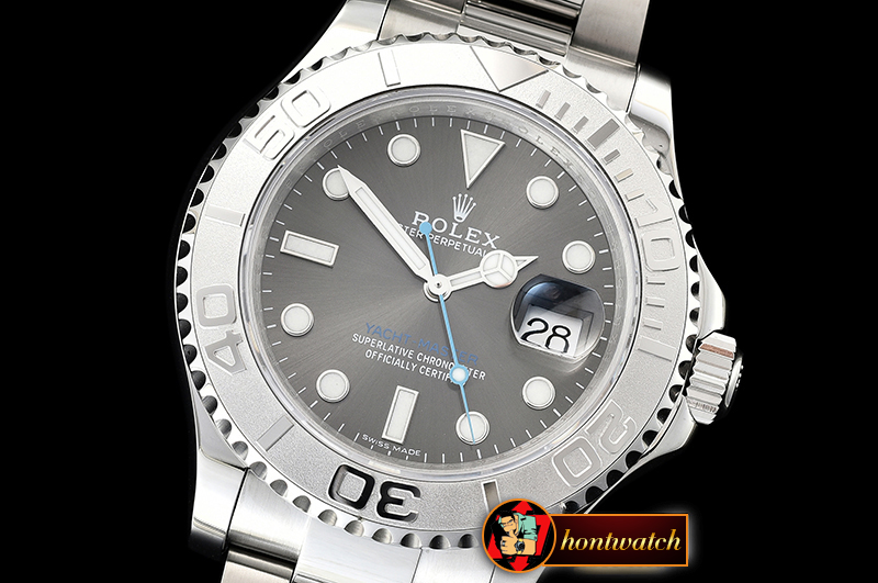 Rolex YachtMaster 116622 40mm SS/SS Grey VRF Asia 2836