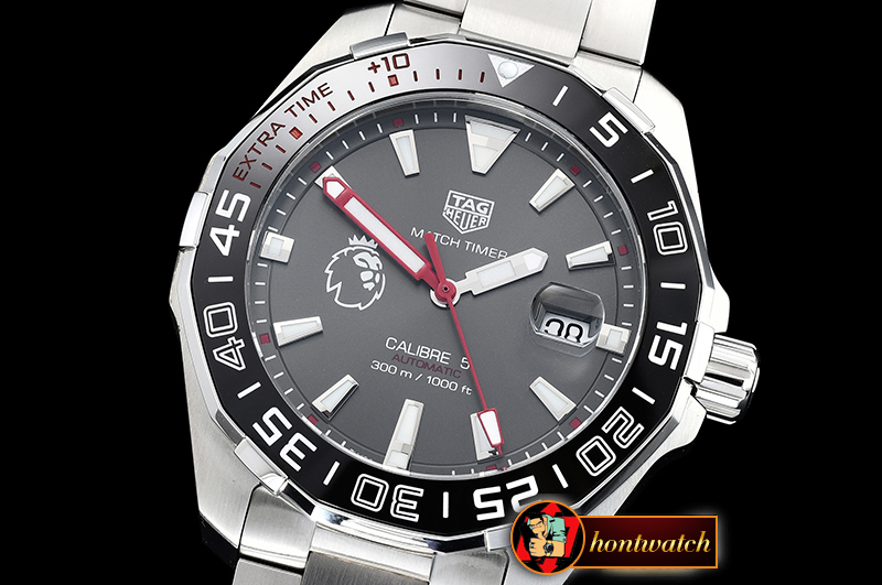 Tag Heuer Aquaracer Premier League SS/SS Grey GSF Asia 2824