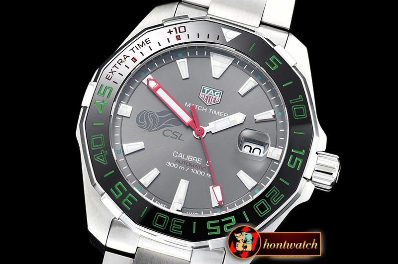 Tag Heuer Aquaracer CSL League SS/SS Grey GSF Asia 2824
